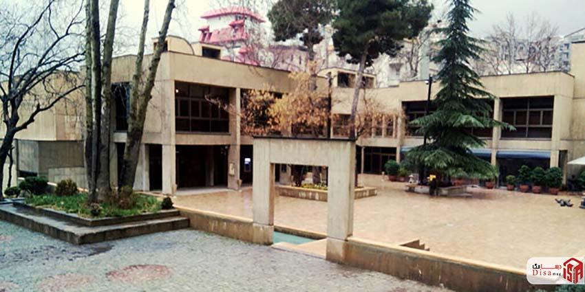 معماری فرهنگسرای نیاوران تهران