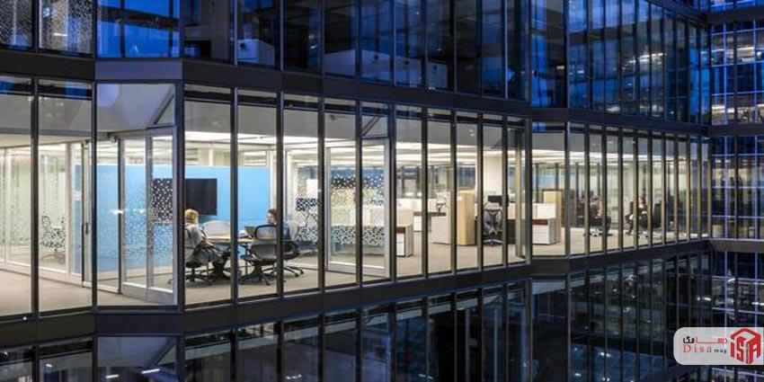 طراحی داخلی بانکی