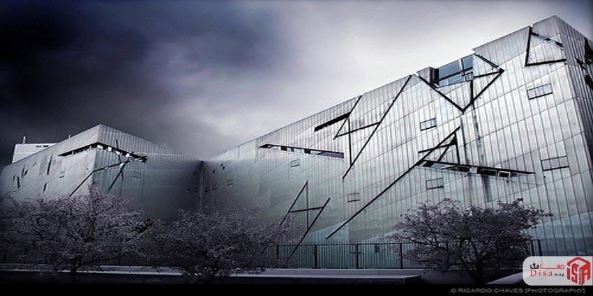 طراحی موزه یهود برلین