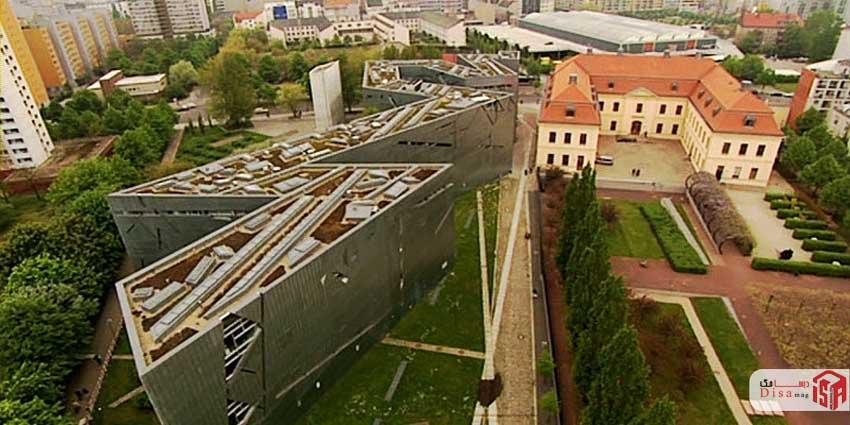 باغ های اطراف طراحی موزه یهود برلین