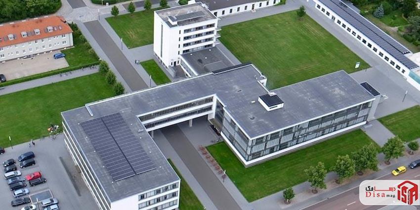 تحلیل معماری مدرسه باوهاوس