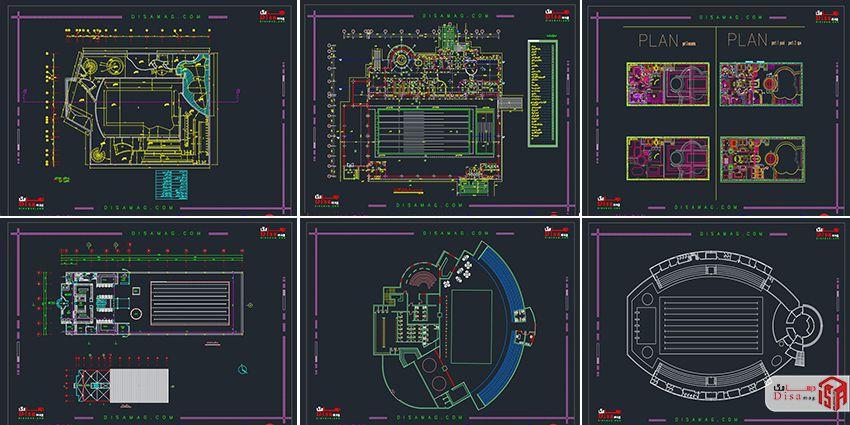 اسکرینشات مجموعه 20 نمونه پلان استخر سرپوشیده 2