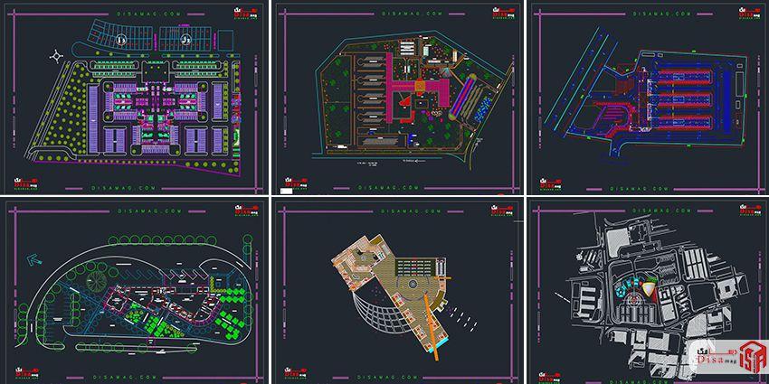 اسکرینشات مجمموعه 20 نمونه پلان ترمینال مسافربری 3