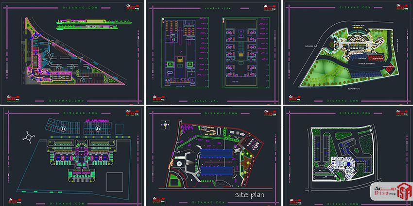 اسکرینشات مجمموعه 20 نمونه پلان ترمینال مسافربری 2