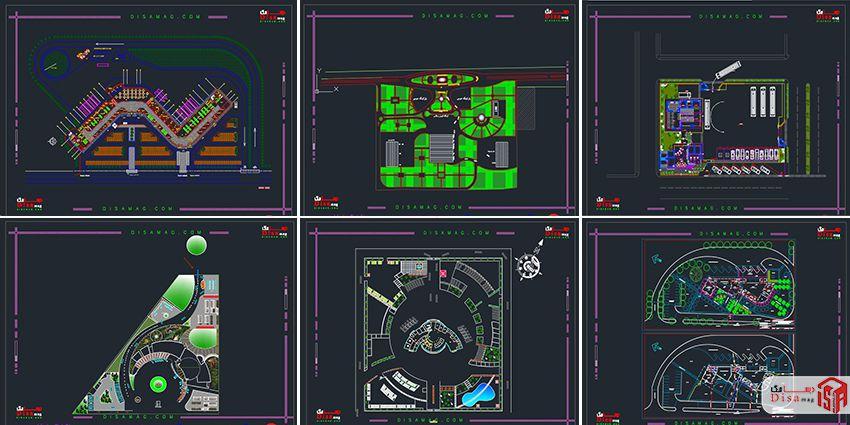 اسکرینشات مجمموعه 20 نمونه پلان ترمینال مسافربری 1