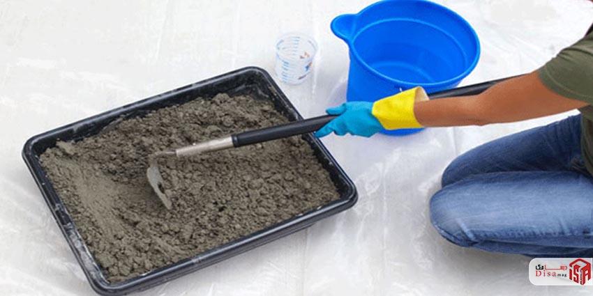 روش ساخت بتن شفاف