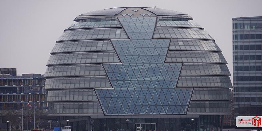 نمای خارجی تالار شهر لندن 1