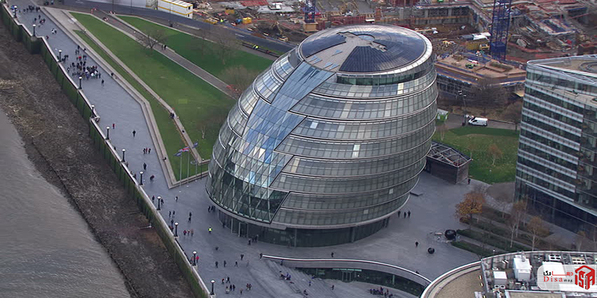 کانسپت تالار شهر لندن