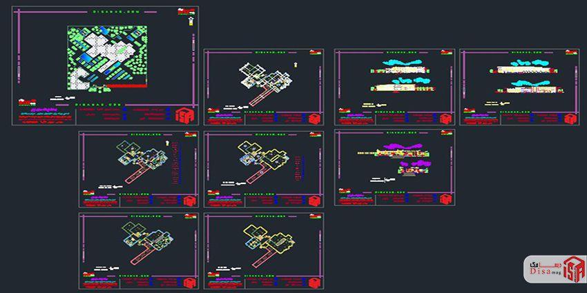 اسکرینشات پروژه کامل کتابخانه
