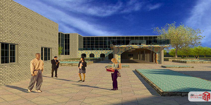 طراحی کتابخانه عمومی 2