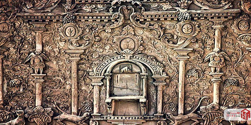 معماری خانه بروجردیها تزئینات