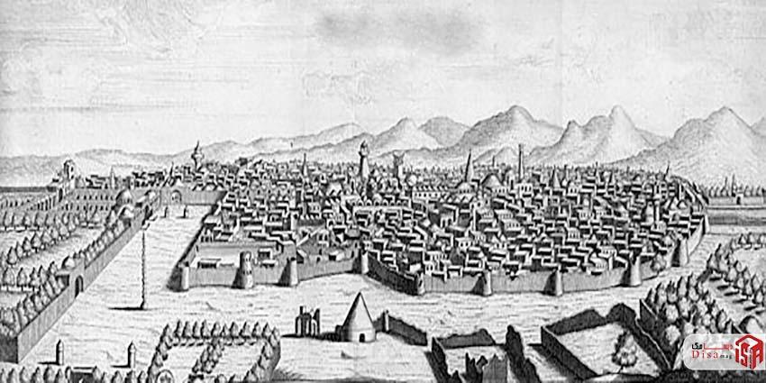 عکس قدیمی شهر کاشان