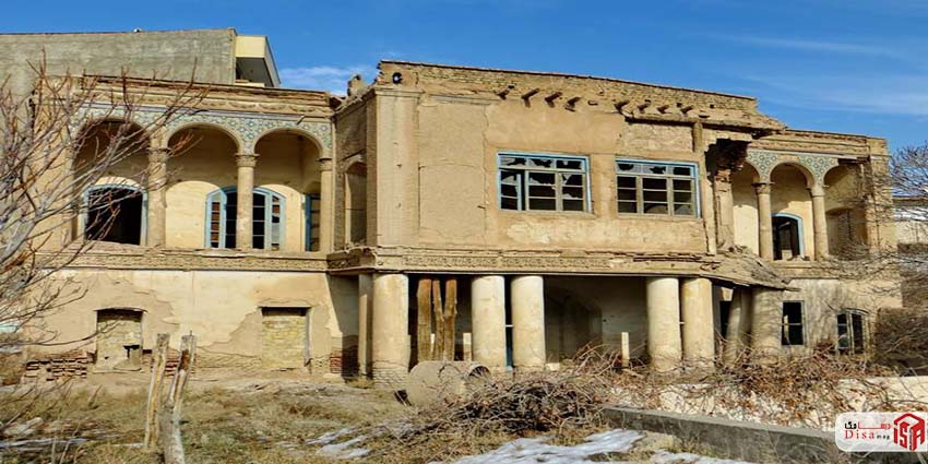 معماری خانه کلانتری تبریز 1