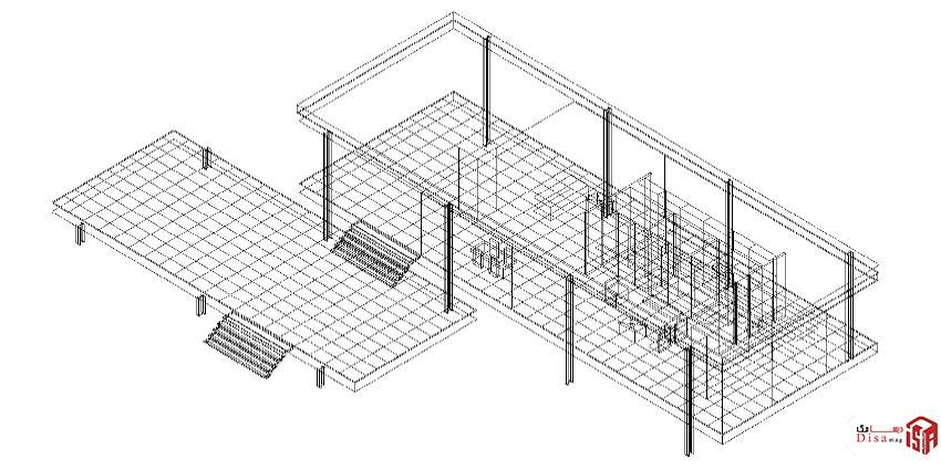 تحلیل سازهای اصلی خانه فارنزورث میس وندروهه