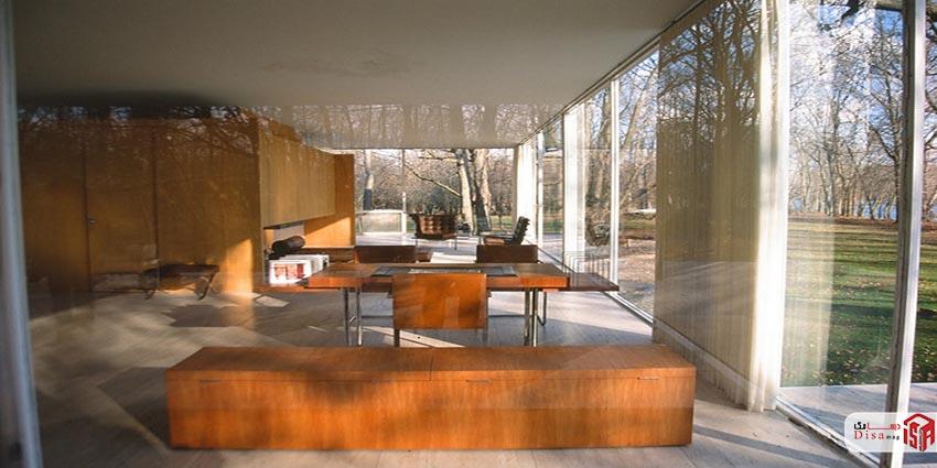 معماری خانه شیشهای میس وندروهه