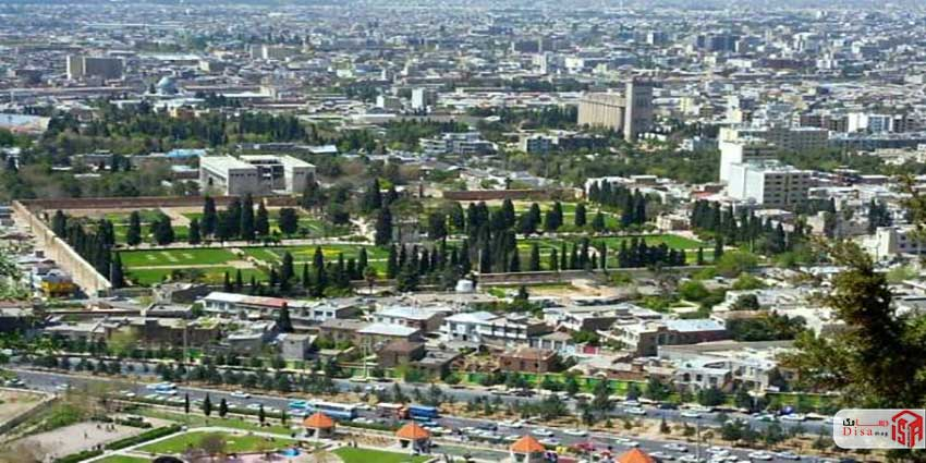 موقعیت مدرسه خان شیراز