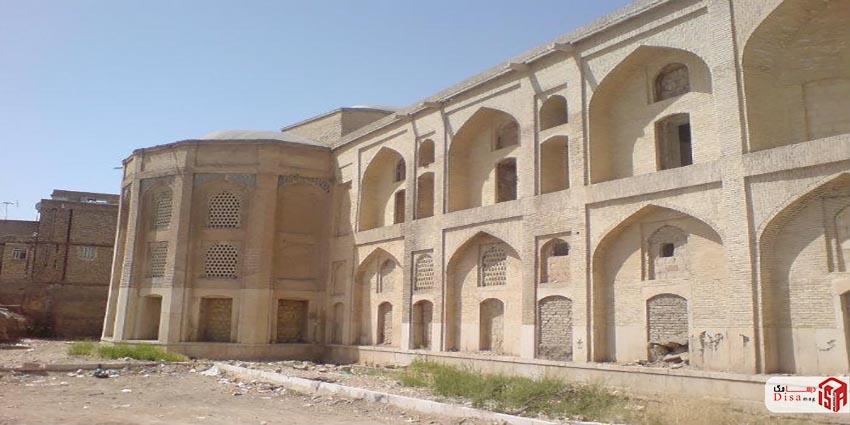 معماری مدرسه خان شیراز 4