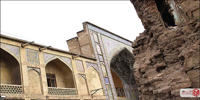 معماری مدرسه خان شیراز 3