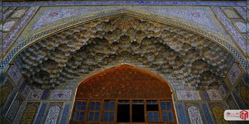 معماری مدرسه خان شیراز 1