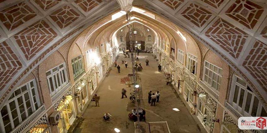 معماری بازار تبریز 2