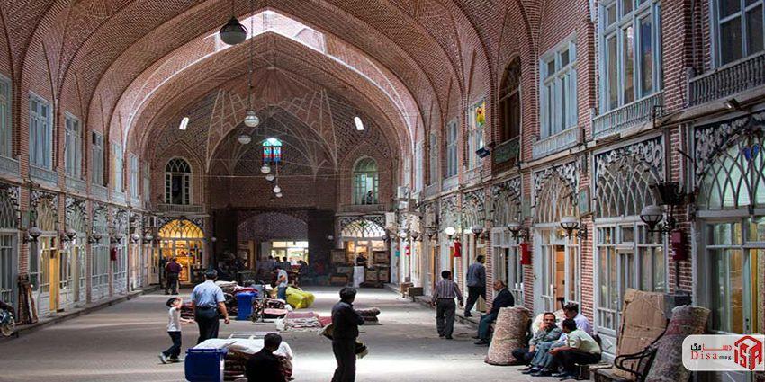 معماری بازار تبریز 3