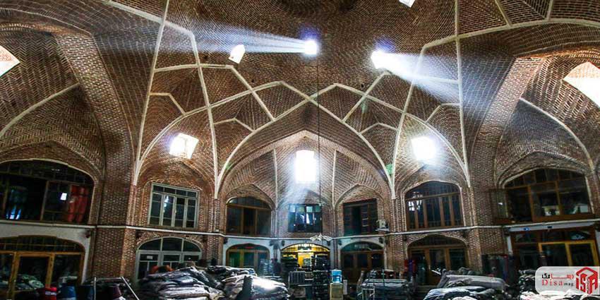 معماری بازار تبریز