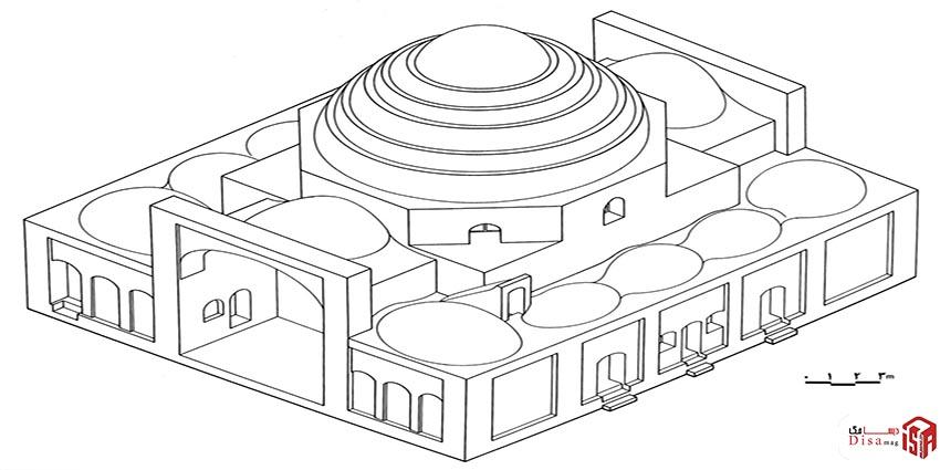معماری امامزاده یحیی 3 4