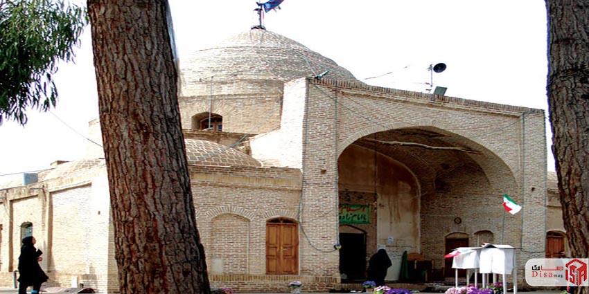 معماری امامزاده یحیی