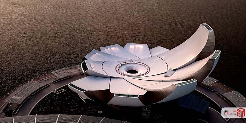 معماری موزه هنر علم سنگاپور