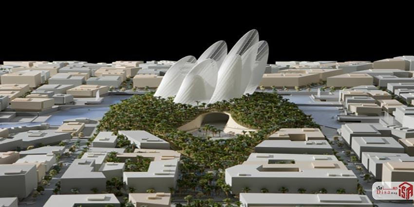 معماری موزه زاید ابوظبی