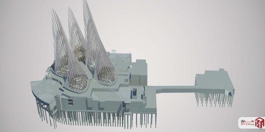 معماری موزه ملی زاید ابوظبی