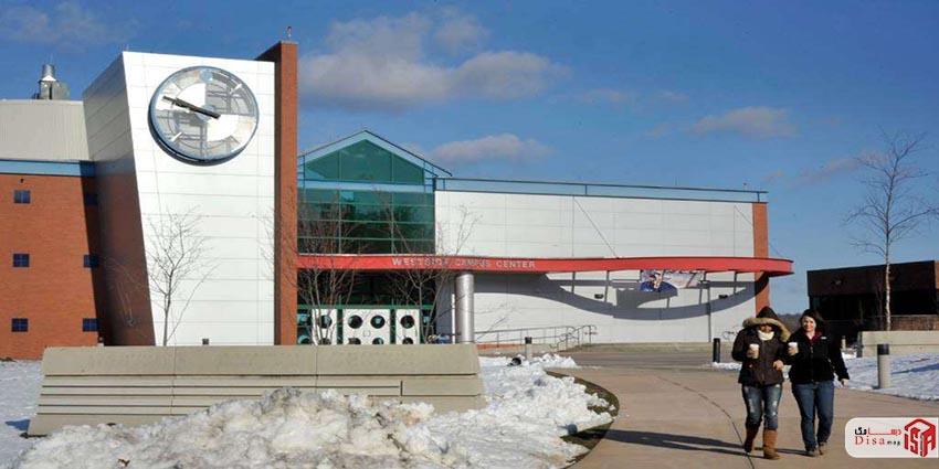 ورودی پردیس مرکزی دانشگاه ایالتی کنتیکت غربی