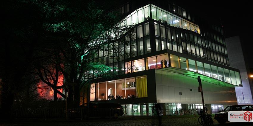 سفارت هلند در برلین آلمان رم کولهاس