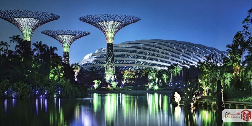 معرفی باغهای خلیج سنگاپور