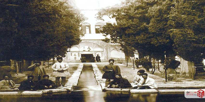 تاریخچه باغ فین کاشان