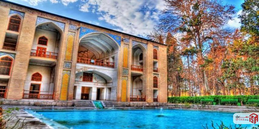 معماری باغ فین کاشان