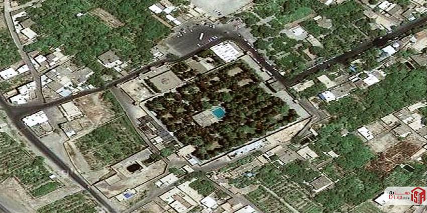 موقعیت باغ فین کاشان