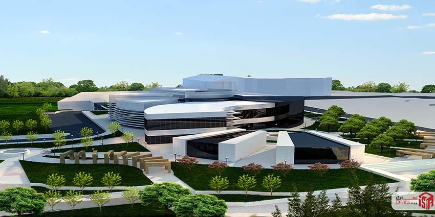 پروژه معماری دانشکده معماری