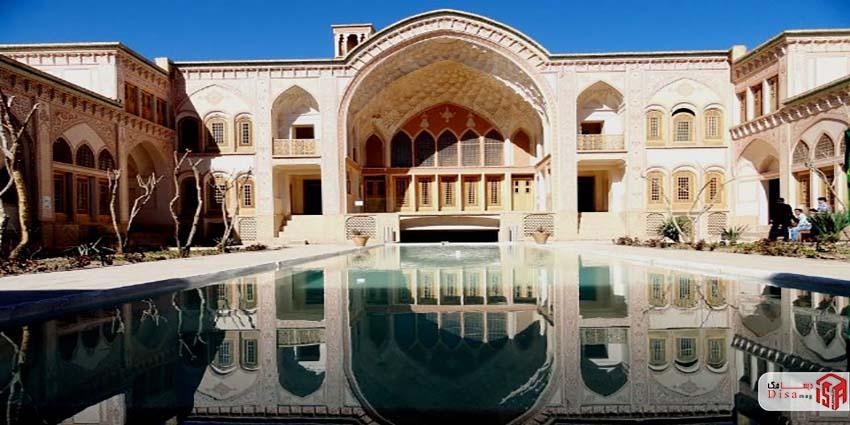 تاریخچه خانه عامریها کاشان
