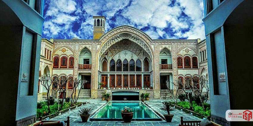 1 تاریخچه خانه عامریها کاشان
