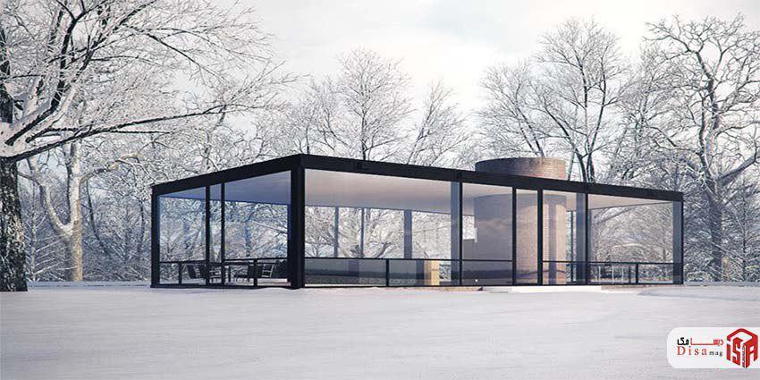 تاریخچه خانه شیشهای جانسون
