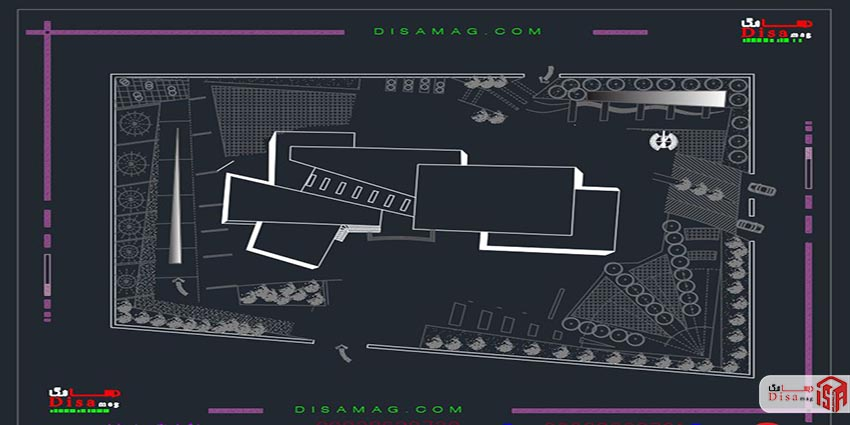 سایت پلان پروژه کامل مجتع تجاری