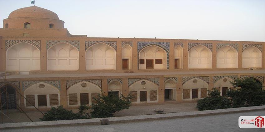 معماری مسجد آقا بزرگ کاشان 3