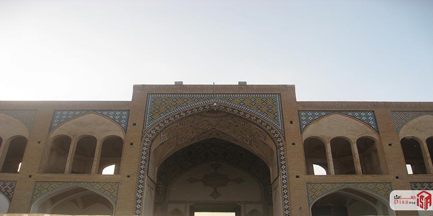 معماری مسجد آقا بزرگ کاشان 4