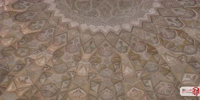 معماری مسجد آقا بزرگ کاشان 5