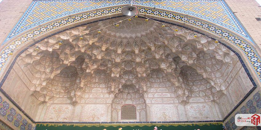 معماری مسجد آقا بزرگ کاشان 6