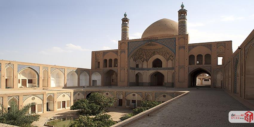تاریخچه مسجد آقا بزرگ کاشان 2