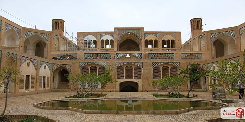 معماری مسجد آقا بزرگ کاشان 1