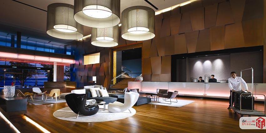 رساله طراحی هتل 5 ستاره