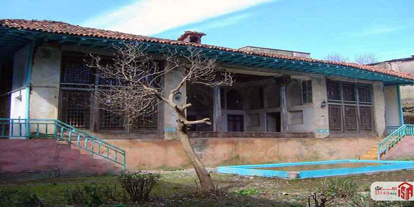 معماری خانه محمد صادقی لاهیجان